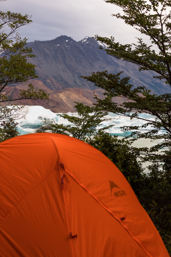 Tent with a view. Photo: Stephanie Stefanski